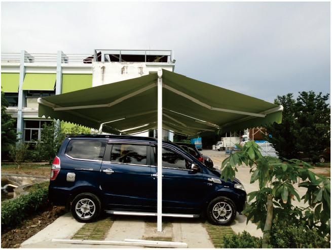 雨棚在汽车中的四大重要作用介绍